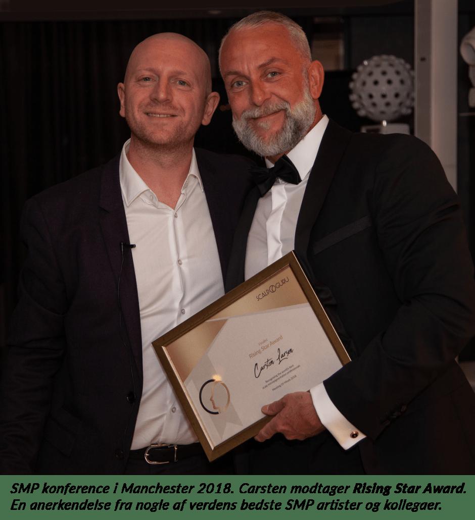 Carsten vinder Rising Star Award