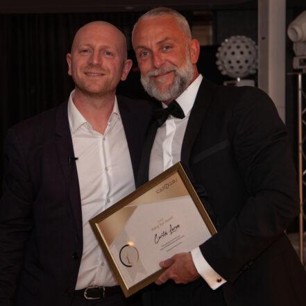 Carsten modtager Rising Star Award